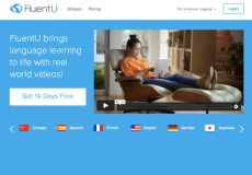 FluentU kids learning platform