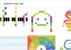 Chrome Music Lab kids learning platform