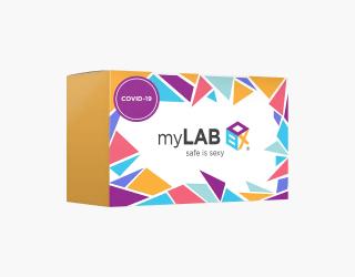 myLab Box covid testing kit