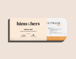 Hims & Hers covid testing kit