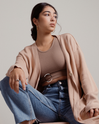 Model wearing Missguided clothing