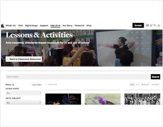 The Kennedy Center educational platform