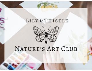 Nature's Art Club educational platform