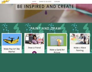 Tate Kids educational platform