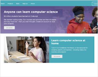 Code.org educational platform