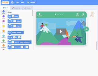 Scratch educational platform