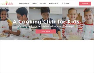 Raddish Kids educational platform