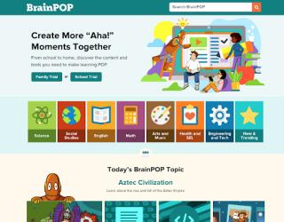 BrainPOP educational platform
