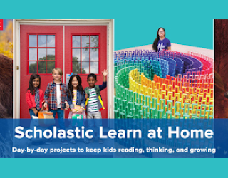 Scholastic Learn At Home educational platform