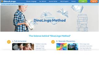 Dino Lingo educational platform