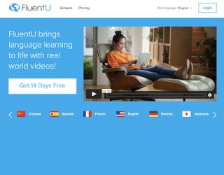 FluentU educational platform