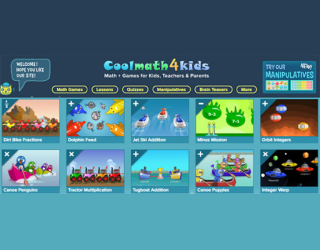 CoolMath4Kids educational platform