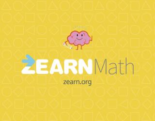 Zearn Math educational platform
