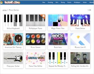 Agame educational platform