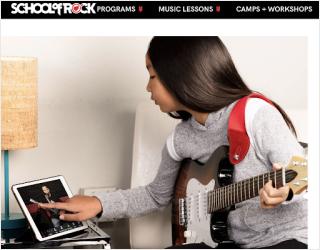 School of Rock educational platform