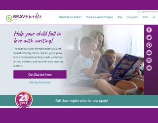 Brave Writer educational platform