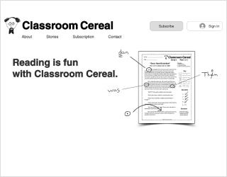 Classroom Cereal educational platform