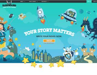 National Novel Writing Month — Young Writers Program educational platform