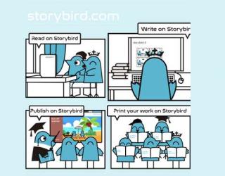 Storybird educational platform
