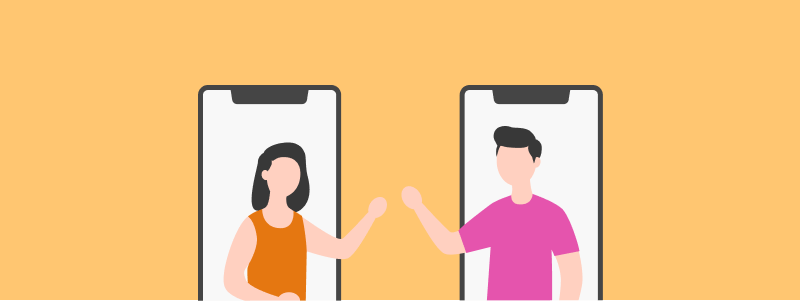 Connect with new people online