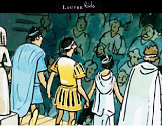 The Louvre Museum educational platform