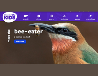 San Diego Zoo Kids educational platform