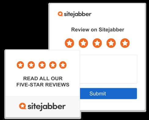 Sitejabber widgets