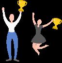 Company award party