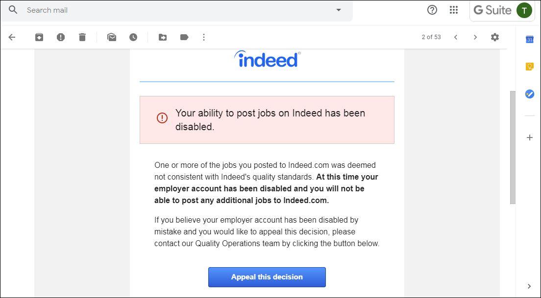 Indeed Reviews 1 074 Reviews Of Indeed Com Sitejabber