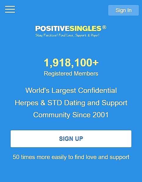 positive singles log in