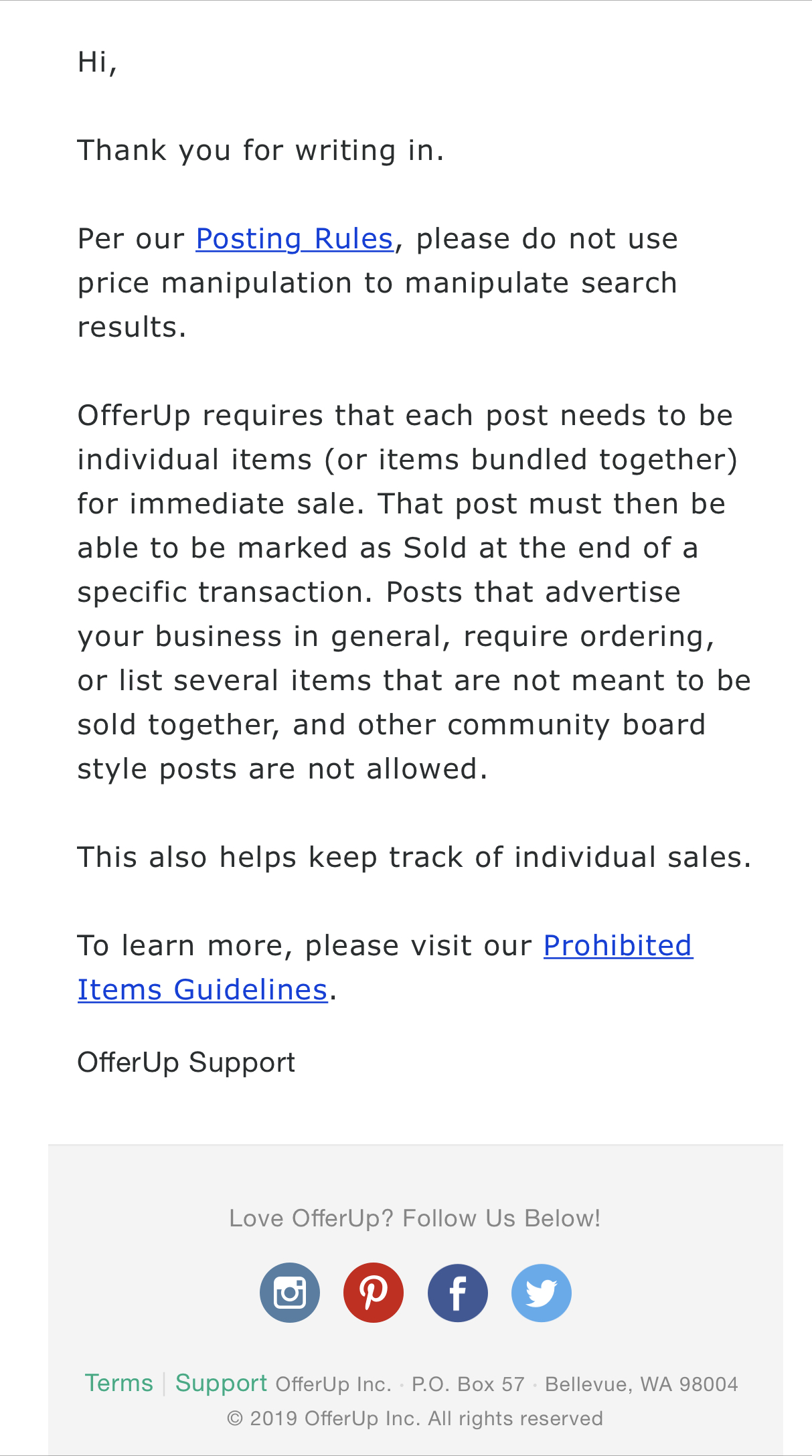 Offerup Reviews 441 Reviews Of Offerup Com Sitejabber