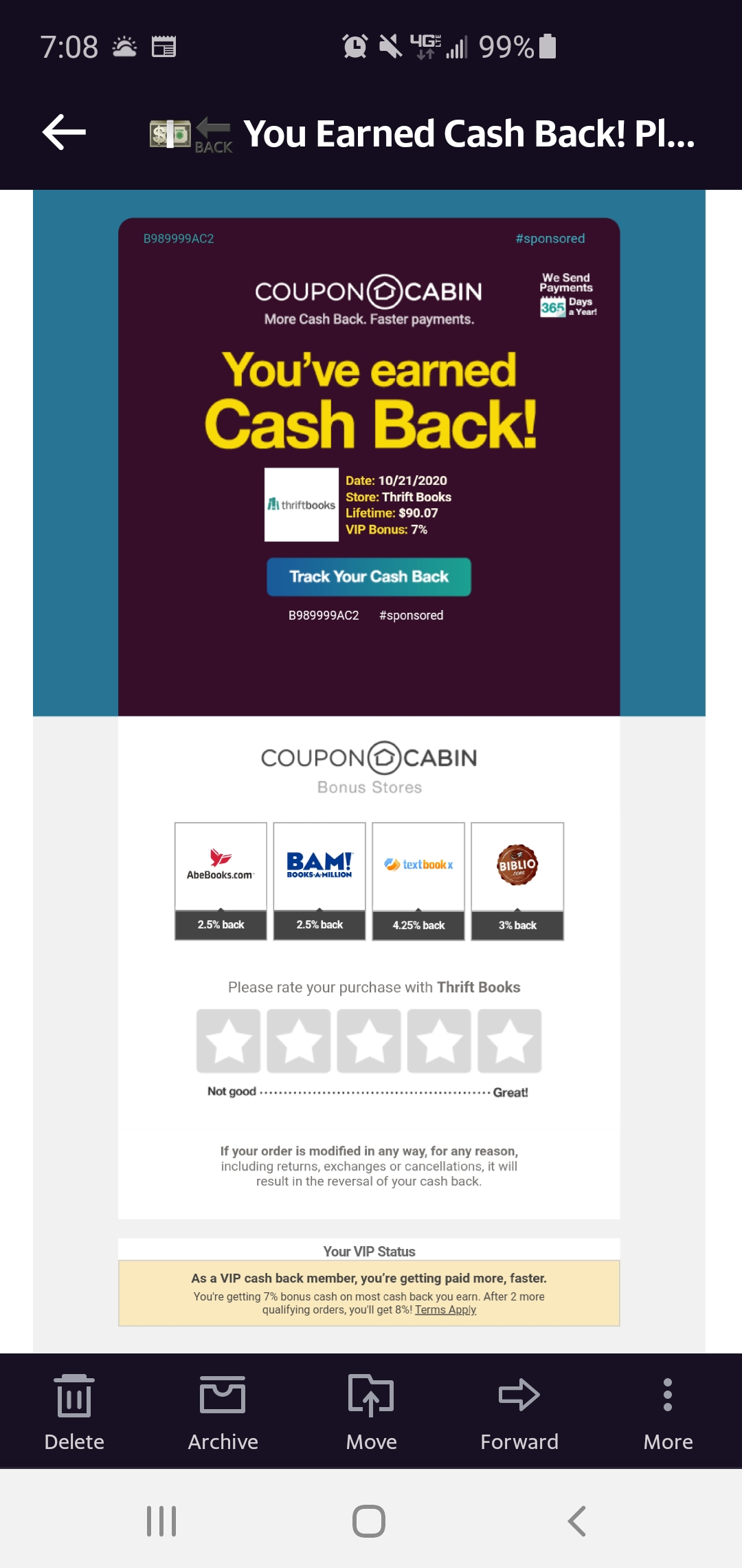 Couponcabin Reviews 1 438 Reviews Of Couponcabin Com Sitejabber