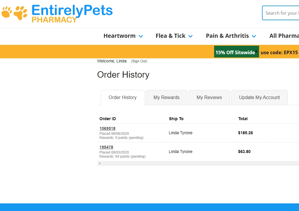 Entirelypets Reviews 509 Reviews Of Entirelypets Com Sitejabber