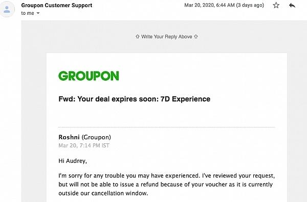 Groupon Reviews 6 395 Reviews Of Groupon Com Sitejabber