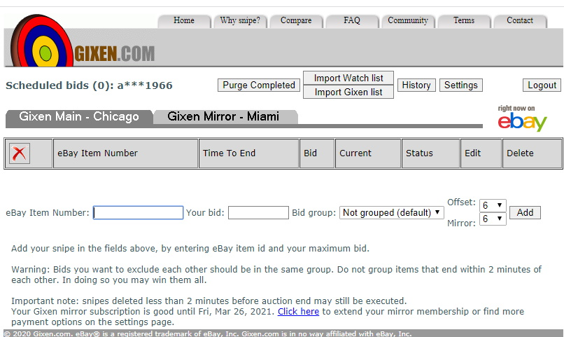 Gixen Reviews 507 Reviews Of Gixen Com Sitejabber