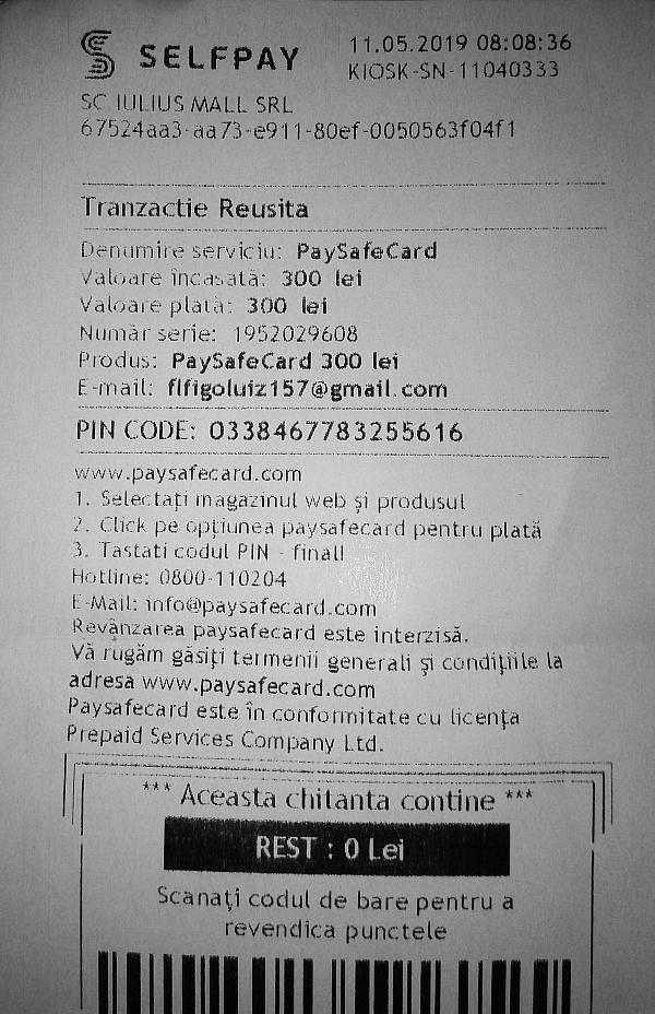 Code paysafecard fake Free Paysafecard