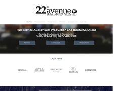22nd Avenue Entertainment Logistics