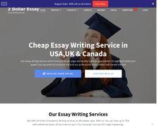 2 Dollar Essay