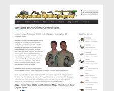 Aaanimalcontrol.com