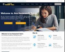 Ace Homework Tutors