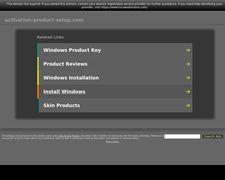 Activation-product-setup