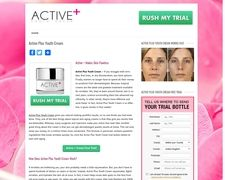 Active plus youth cream