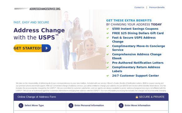 Addresschangeservice.org