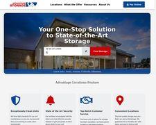 Advantage Self Storage Property Management Provides Clean Storage Units