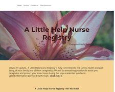 A Little Help Nurse Registry