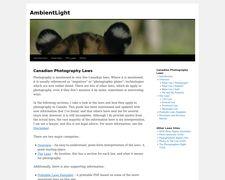 AmbientLight.ca