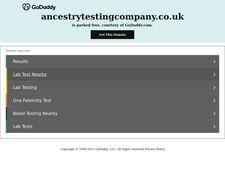 Ancestrytestingcompany.co.uk