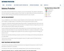 Antivirusprotection.reviews