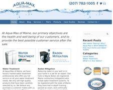 Aquamaxofmaine.com