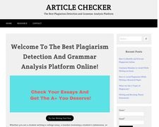 ArticleChecker
